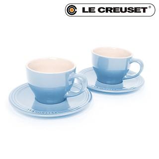 카푸치노컵 & 받침 2P-COSTAL BLUE