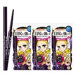#01 DEEP BLACK / LONG STAY SHARP GEL LINER TRIO