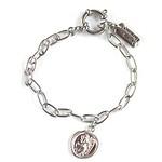 Praying angel bracelet silver 手链