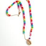 Rainbow beads necklace 项链