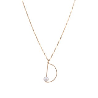 DELIGHT 14K GOLD PEARL NECKLACE