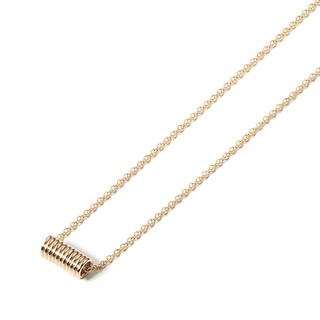 COIL 14K GOLD NECKLACE