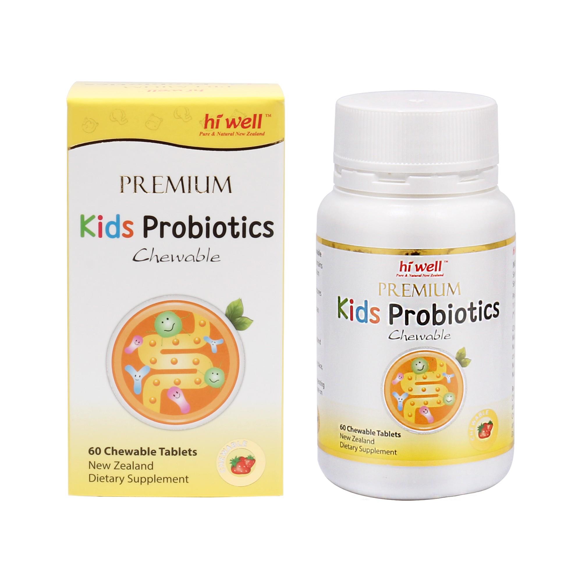 PREMIUM KIDS PROBIOTICS 60 TABLETS