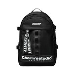 [EXO SUHO同款]#BLACK&WHITE / ALMOSTBLUE X CHARMS BACKPACK