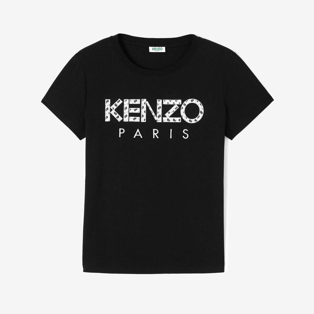 #BLACK / CLASSIC T-SHIRT KENZO PARIS_WOMEN (050816007004)