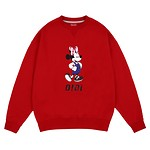 #RED / SWEATSHIRTS / OVERALL MINNIE MOUSE FREE