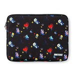 BT21 SPACE SQUAD PATTERN LAPTOP SLEEVE 15 INCH