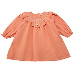 #OR / FLOWER EMBROIDERY FRILL DRESS