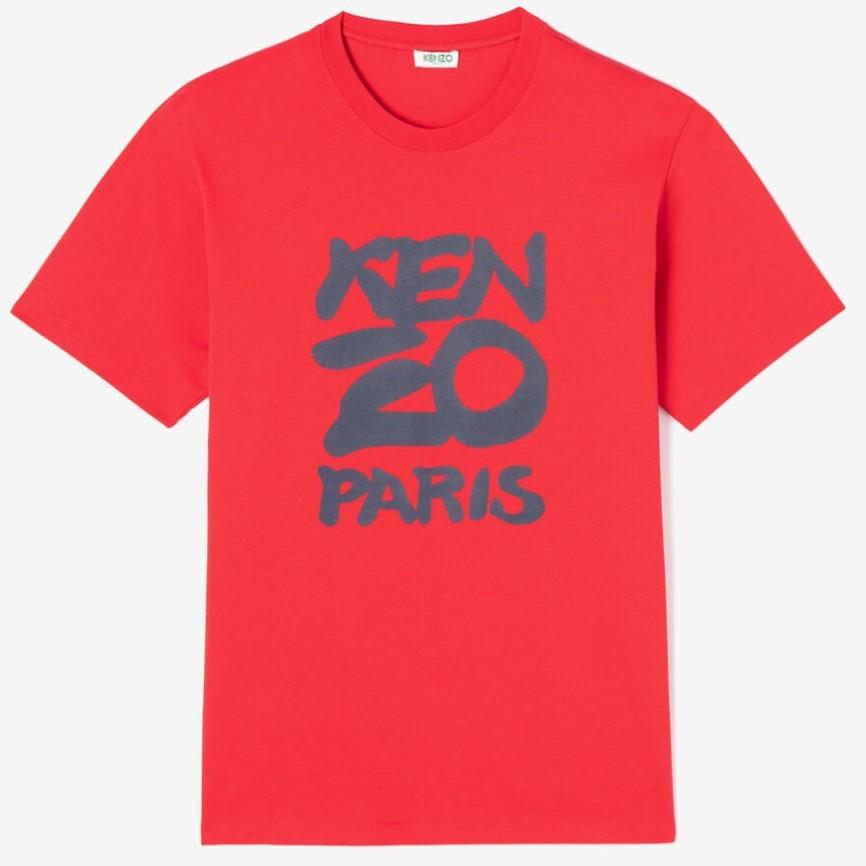 #MEDIUM RED / SEASONAL KENZO T-SHIRT_MEN M