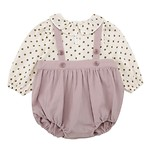 #CR / SWEET FRILL COLLAR BODYSUIT 80