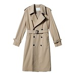 #BE/Classic trench coat