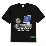 #BLACK / BAxADLV COMPUTER GIRL / 1