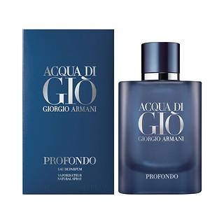 아쿠아 디 지오 프로폰도 오 드 퍼퓸 ACQUA DI GIÒ PROFONDO