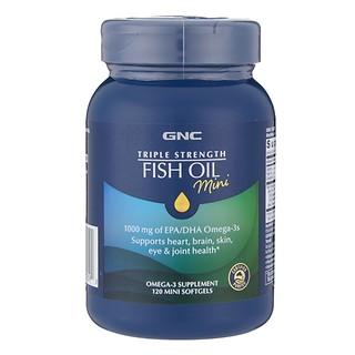 #눈건강/ 트리플 피쉬오일 미니 (고농축 오메가3, 작아진 미니캡슐) TRIPLE STRENGTH FISH OIL Mini
