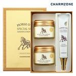 HORSE OIL CREAM GOLDEN COMPLEX SPECIAL SET 眼霜+面霜特别套装