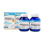 PREMIUM GOLD INNER HEALTH PROBIOTICS 50BILLION + PRE-BIOTICS 100MG 60TABLETS 2BOTTLES
