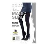 #BLACK / MAGIC SLIM 200M MULTI HIP-UP STOCKINGS