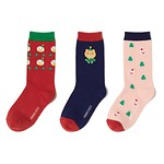 CHRISTMAS SOCKS GIFT SET 袜子3件套