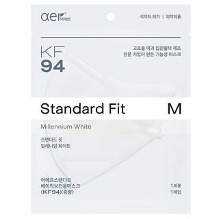 KF94방역마스크(M)밀레니엄화이트20P