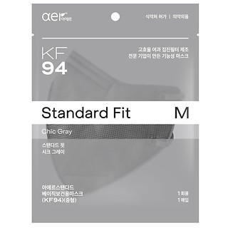 KF94방역마스크(M)시티그레이20P
