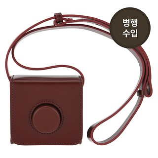 #RED / LEMAIRE MINI CAMERA BAG