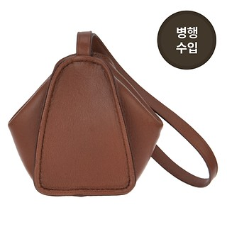 #BRICK BROWN / LEMAIRE FOLDED COIN PURSE