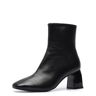 # 블랙 / Rommel ankle boots(black)_240