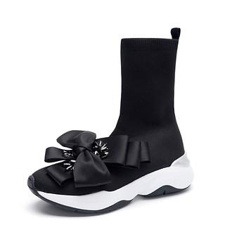 # 블랙 / Menuett sneakers(black)_240